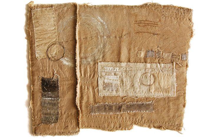 by the textile artist Gizella K Warburton