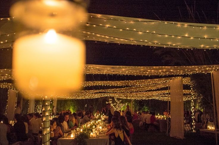 """The most romantic ambience to enjoy your wedding dinner under thousands of """"stars""""  !!!"""