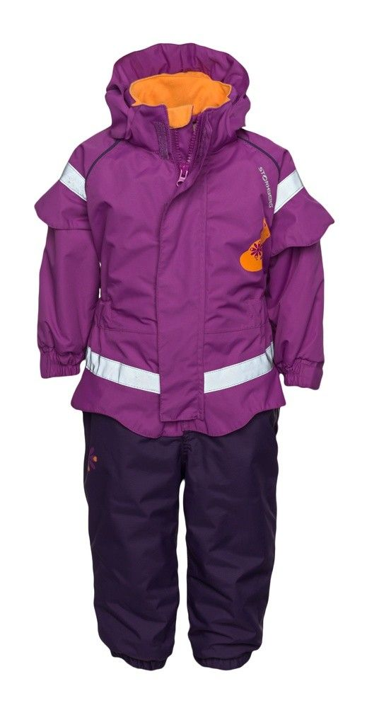 Knall padded overalls are warm and durable, suitable for active children for both everyday and nursery use.
