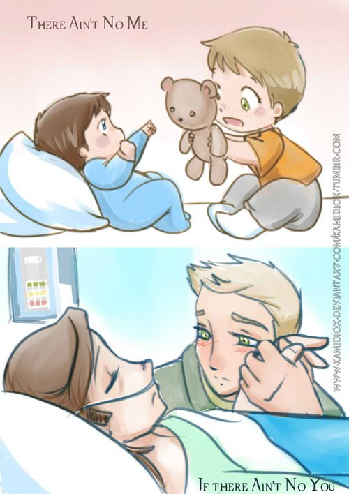 """There Aint No Me If There Aint No You""  Source: Kamidiox"