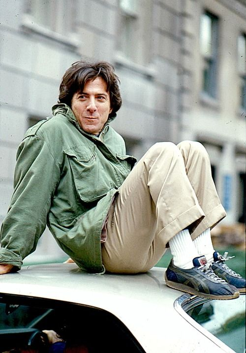 Dustin Hoffman on the set of Kramer vs. Kramer. I love the this as a color and wardrobe reference for the the flashbacks.