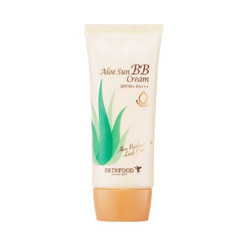 [SKINFOOD] Aloe Sun BB Cream - 50g (SPF50+ PA+++, Yellow Tube)