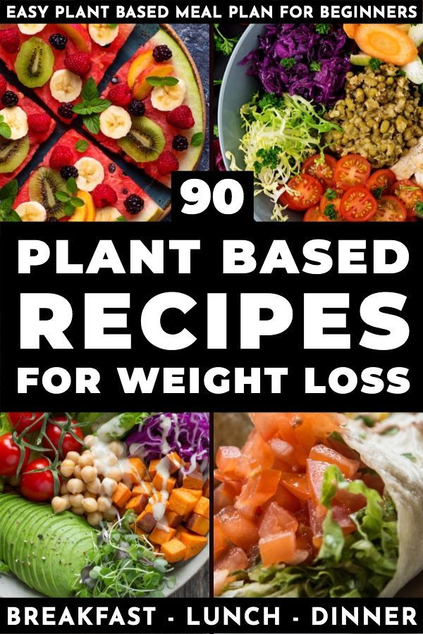 Plant Based Diet Meal Plan For Beginners 90 Plant Based Recipes Plant Based Diet Meal Plan Plant Based Meal Planning Plant Based Diet Meals