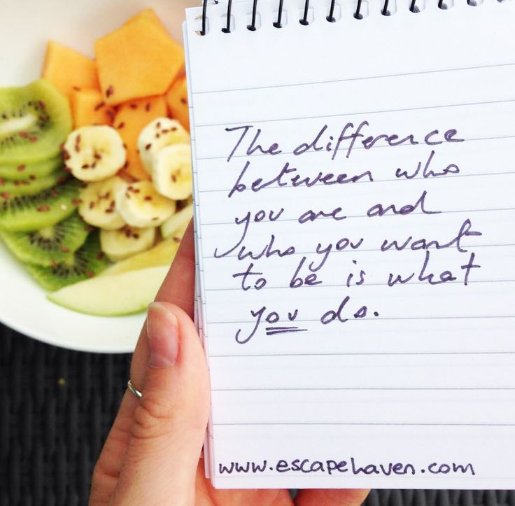 Every decision you make now will affect your long term goals, even something as small as what you decide to have for breakfast in the morning can set you up for achievement! What are you aiming for? Make small but steady steps towards your goals today, and you'll realise every little step adds up to a wonderful journey! #MotivationMonday