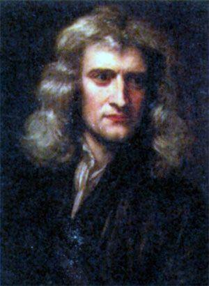 Сэр Исаак Ньютон (1643-1727). Художник Г. Кнеллер. 1689 г.