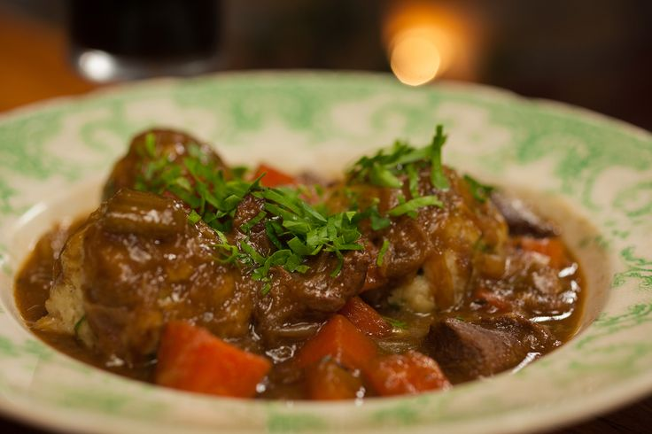 Scandinavian Beef Hunter's Stew with Bacon: http://gustotv.com/recipes/lunch/scandinavian-beef-hunters-stew-bacon-onion-dumplings/