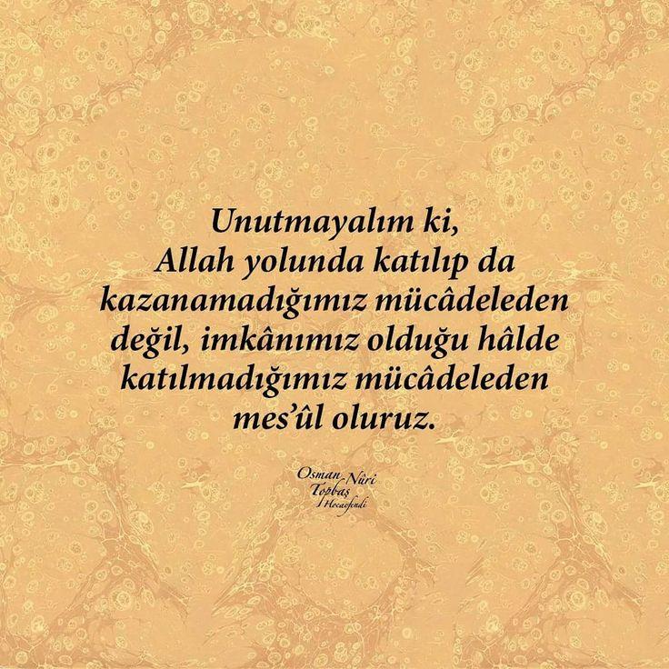 Yollar...   #imtihan #yollar #mücadele #imkan #söz #osmannuritopbaş #sözler #hayırlıcumalar #türkiye #ilmisuffa