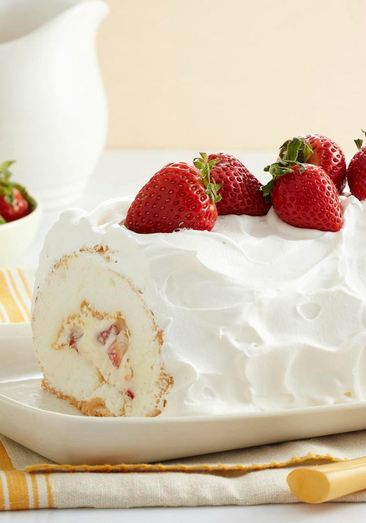 Heavenly Strawberry Roll -- The name says it all. And with just 20 minutes of prep time, this dessert recipe can't be beaten.