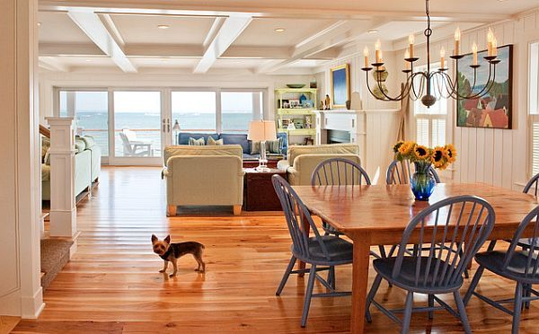Beach Home Interior Colors Kitchens Dining Areas
