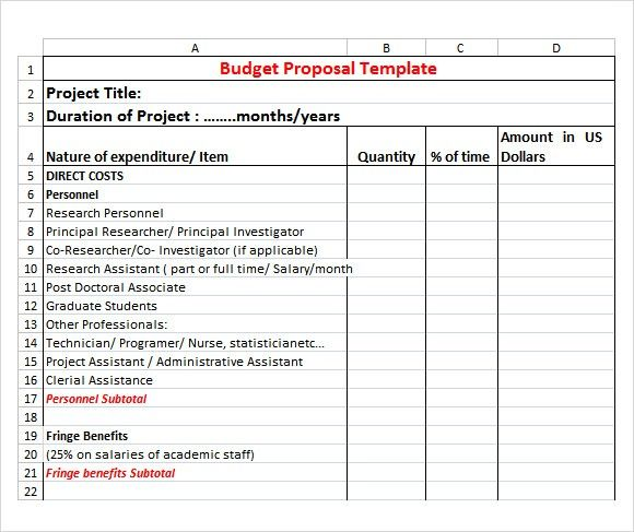 Excel Proposal Template from i.pinimg.com