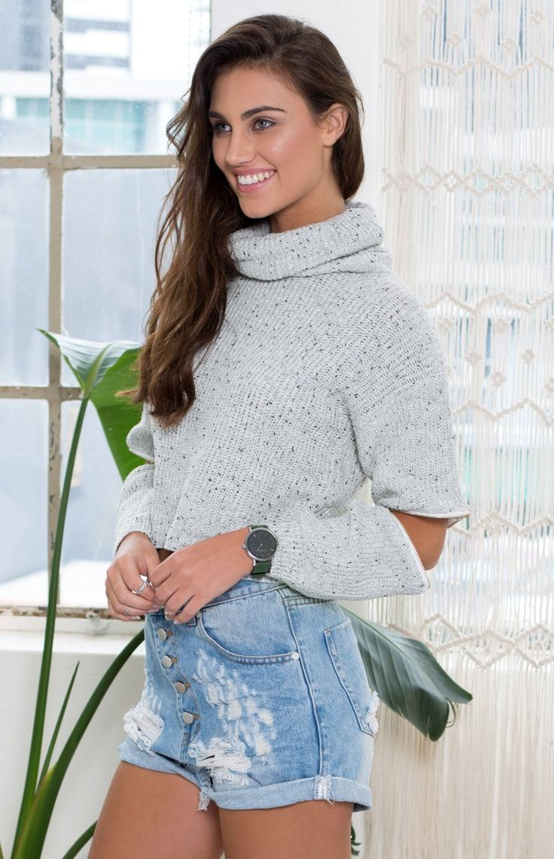 Minnesota Knit Jumper Grey Speckle | Beginning Boutique #BBFEST #beginningboutique