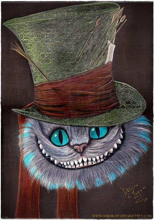 Cheshire Cat  Gato de Cheshire by deboratsuki