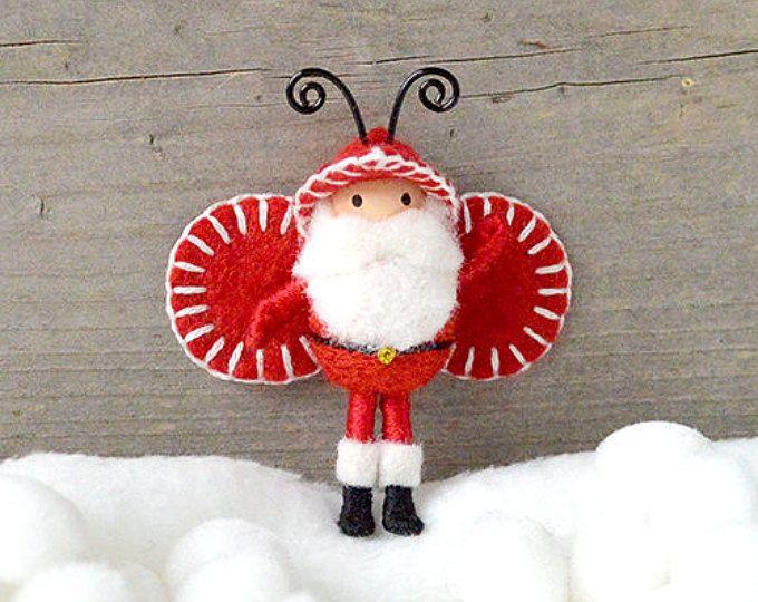 Elfo de Santa Claus Bug Navidad muñeca flexible