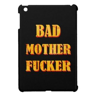 Bad mother fucker blood splattered vintage quote cover for the iPad mini #bad #mother #fucker #pulp #fiction #movie #quote #badass #mofo #humor #funny #blood #vintage #gift #accessories #stuff