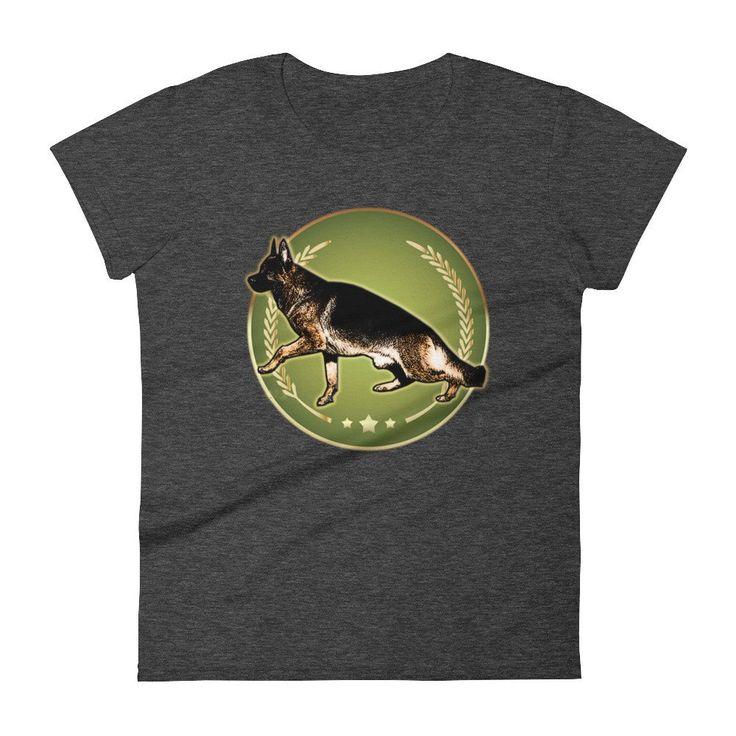 German Shepherd Women's short sleeve t-shirt