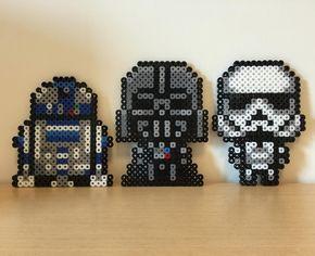 Star Wars perler beads by mushroomwashere