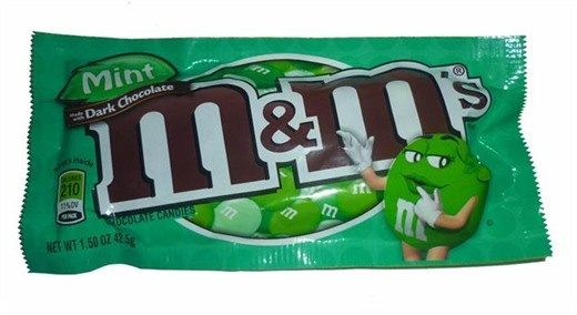 DARK CHOCOLATE MINT M x1 RETRO SWEETS AMERICAN CANDY | eBay