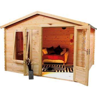 Summer Houses & Log Cabins at Homebase: Garden log cabins, wooden summer houses for sale online in the UK