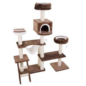 arbre chat maison en pain dpice - Arbre A Chat Maison