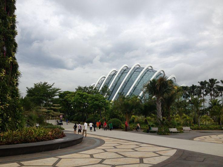 Marina Bay Sands, biospheres- Singapore