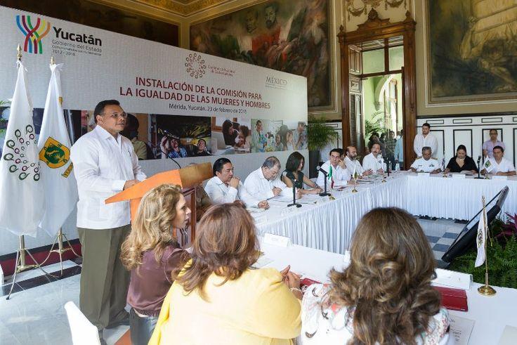 Presenta el Gobernador agenda nacional para impulsar la equidad y perspectiva de género