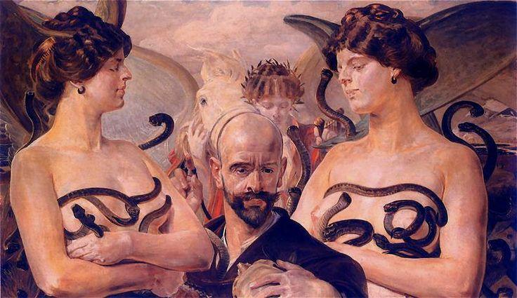 Jacek Malczewski, 1854-1929, Polish painter, The aim of Poland