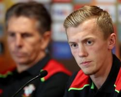 James Ward-Prowse relishing Southamptons Europa League clash with Inter Milan