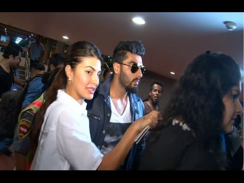 WATCH Arjun Kapoor and Jacqueline Fernandez at Mumbai Airport returning back from IIFA Awards 2015.  See the full video at : https://youtu.be/4EiL30bq53E #arjunkapoor #jacquelinefernandez #iifa