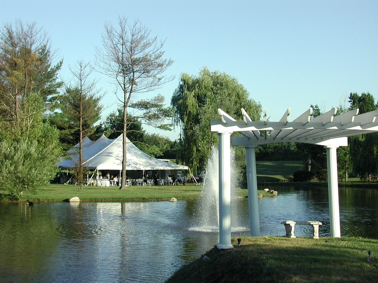 The Arbor By The Pond Creates A Perfect Backdrop For