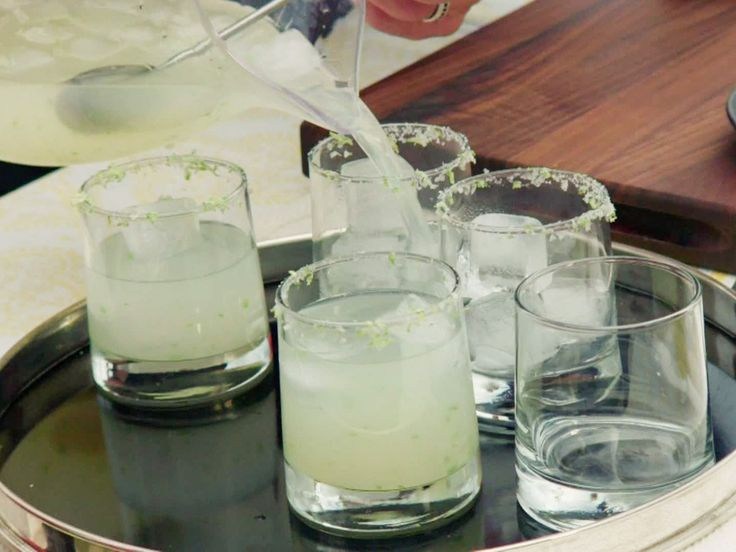 Spicy Margarita with Jalapeno and Ginger recipe from Valerie Bertinelli via Food Network