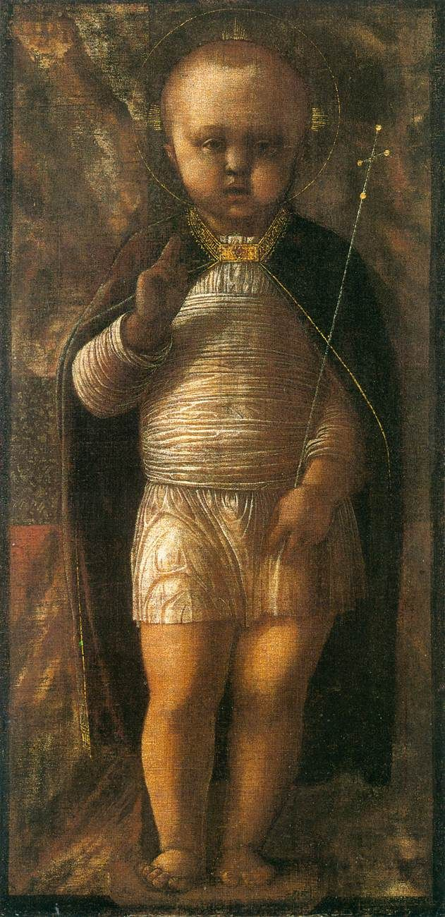 The Infant Redeemer, by Andrea Mantegna