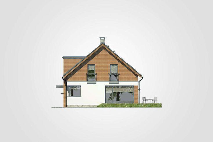 Projekt domu Polo - widok elewacji 2