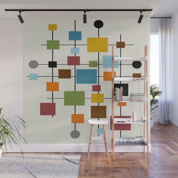 The Diy Whiteboard That S Also A Wall Mural Bloom In The Black In 2020 Wall Murals Wall Painting Decor Modern Wall Decals
