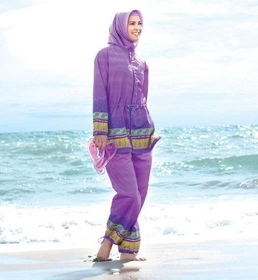 Kapalı Bayanlar İçin Deniz Kıyafetleri