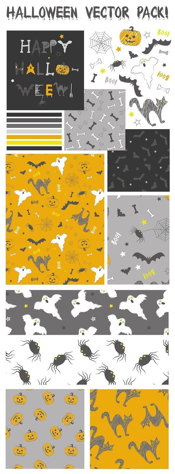 Emily Kiddy: Halloween Vector Pack