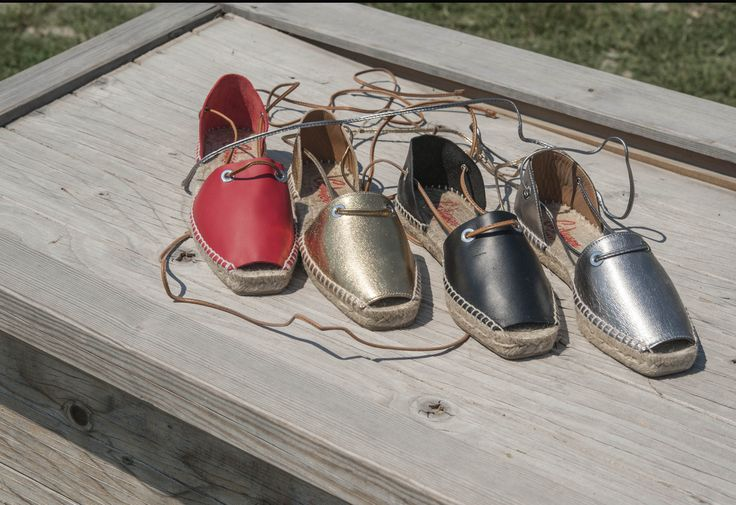 Sandals in leather by castaner Www.lucacalzature.it