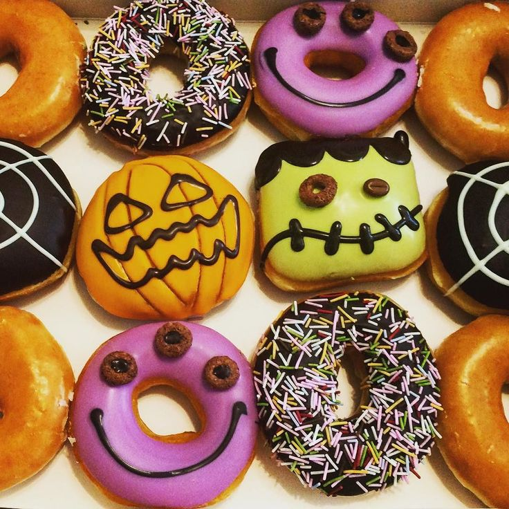 Halloween Donut D Donuts En 2019 Pinterest
