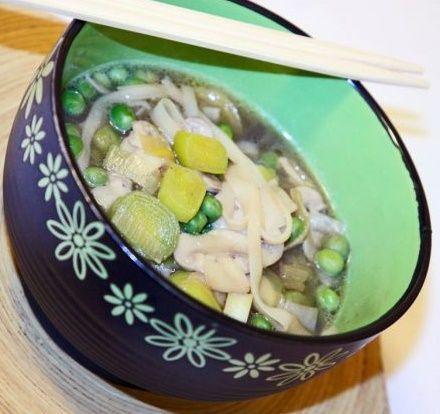 """Il """"kiemblo"""". Una zuppa cinese primaverile, salutare e semplice da realizzare"""