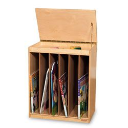 Wood Designs™ Big Book Storage Cabinets with Dry-Erase Front