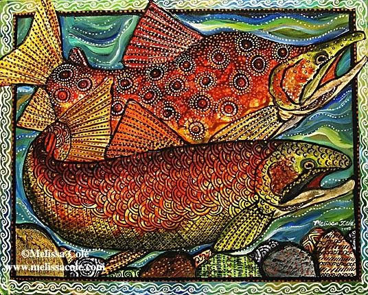 Hey, I found this really awesome Etsy listing at http://www.etsy.com/listing/18944616/salmon-dance-8x10-art-print