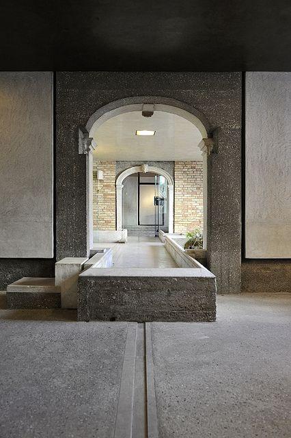 Carlo Scarpa (1906-1978) | Fondazione Querini Stampalia | Sestiere Castello, 5252, 30122 Venice, Italy | 1959-63 (With subsequent modifications by Valeriano Pastor and Mario Botta)