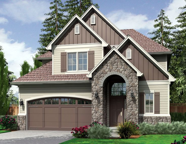 4 Bedroom Plan with Narrow Footprint - 69134AM | 2nd Floor Master Suite, Butler Walk-in Pantry, CAD Available, Northwest, PDF, Traditional | Architectural Designs