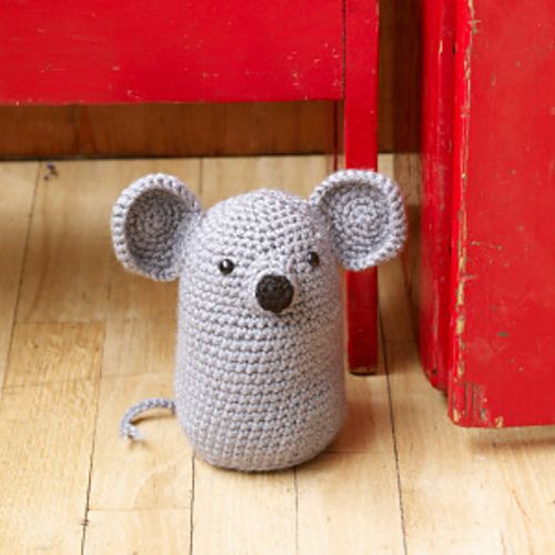 amigurumi mouse - free pattern: Crochet Projects, Crochet Mouse, Doorstop Patterns, Crochet Amigurumi, Amigurumi Mouse, Free Patterns, Crochet Patterns, Mouse Doorstop, Amigurumi Patterns