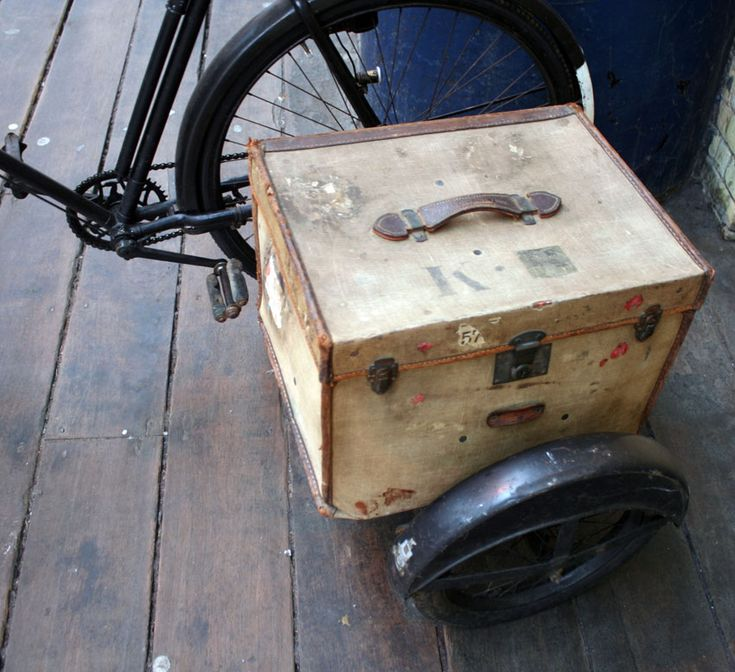 1933 Raleigh Popular All-Weather Gents Bicycle with Watsonian Sidecar