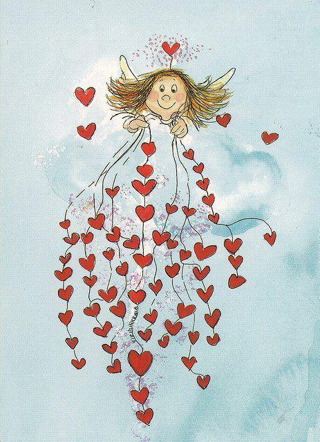 #рисунки  #праздник #иллюстрации #картинки  #открытки #романтика #14февраля #деньвлюбленных #valentinesday #love #hearts  #lovehearts