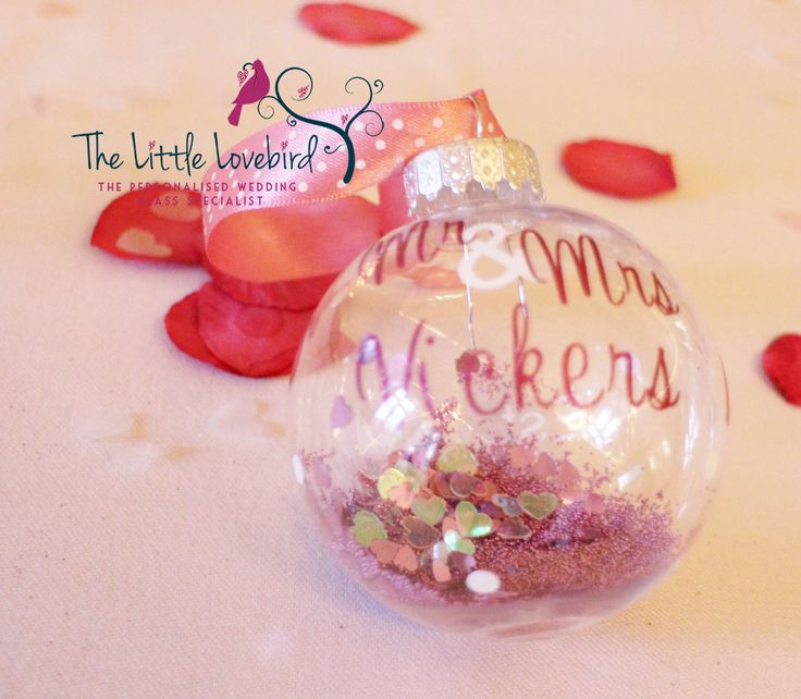 39 best Personalised Christmas Baubles images on Pinterest