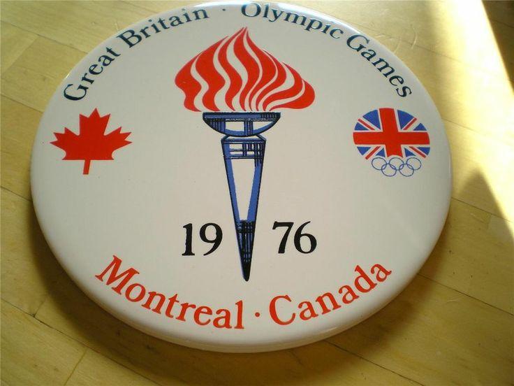 Olympic Games Montreal Canada 1976 Team GB. Tea Pot Coasters - RARE