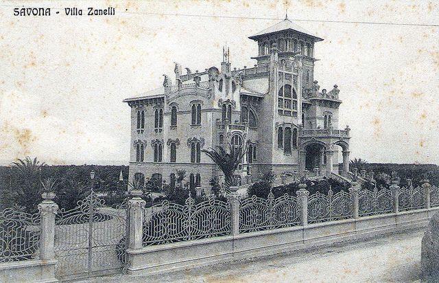 Savona - Villa Zanelli by Andrea Speziali, via Flickr