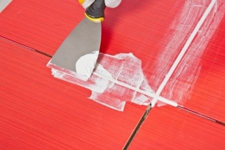 Follow these steps to install epoxy grout.
