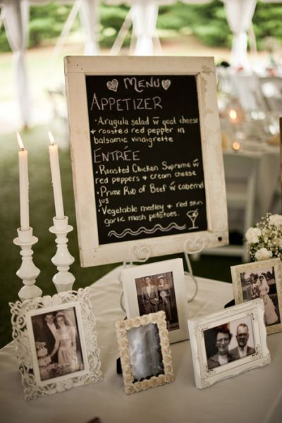 Reception idea....